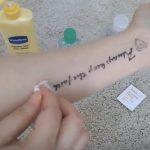 como quitar tatuajes de henna
